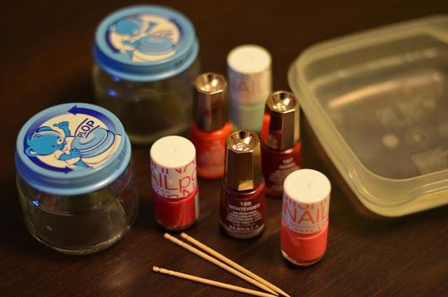 DIY – Petits pots et vernis à ongles