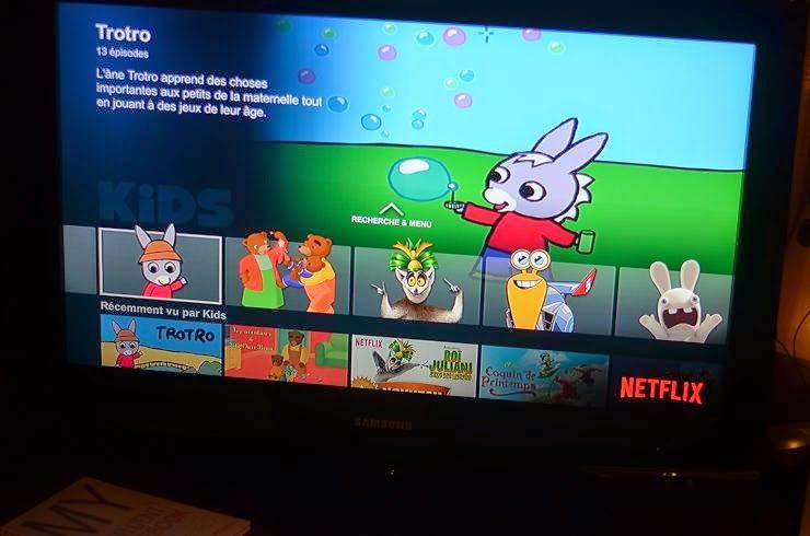 3 mois avec Netflix