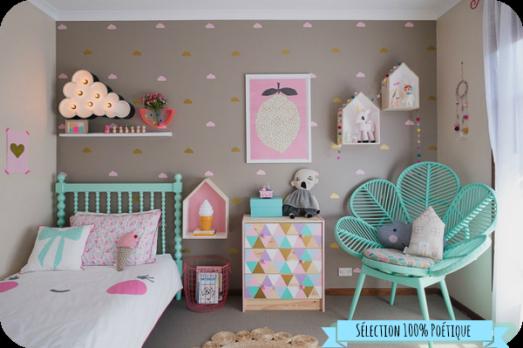 Inspiration déco pour une chambre de bébé poétique !