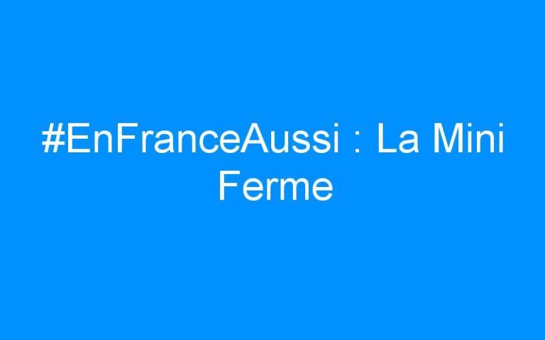 #EnFranceAussi : La Mini Ferme
