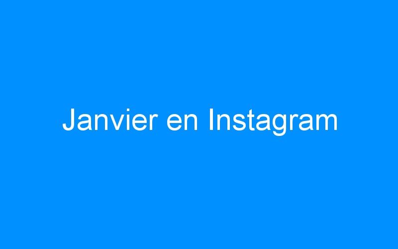 Janvier en Instagram