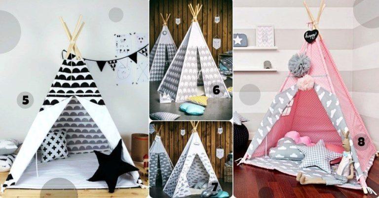 Un tipi ou une cabane pour les petits & grands enfants ! | Mômes et Merveilles